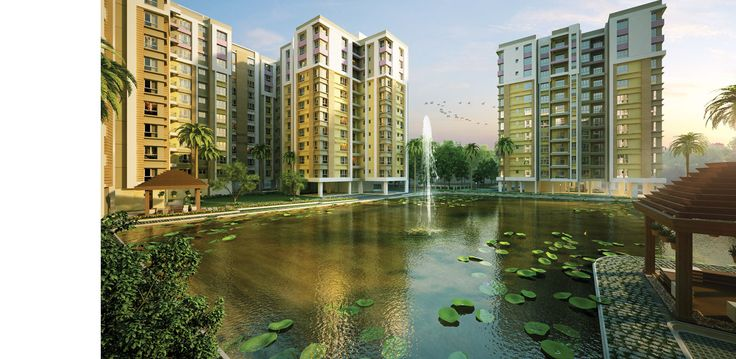 Book a nice flat on EM Bypass at the Southwinds residential project. Dedicated gymnasium, swimming pool and community hall area are present at our luxury residential project near Narendrapur.