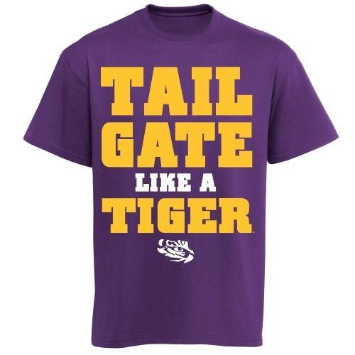 LSU Tigers Tailgate Like a Tiger T-Shirt - Purple