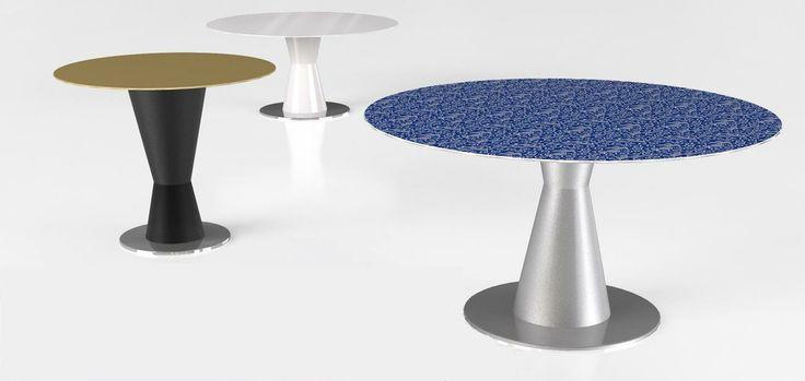 #arbat table, design by Marco Piva for #altreforme, #district collection #interior #home #decor #homedecor #furniture #aluminium