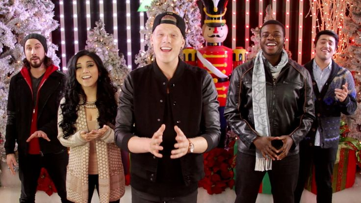 [Official Video] Angels We Have Heard On High - Pentatonix; SUCH A BEAUTIFUL VOCAL ARRANGEMENT