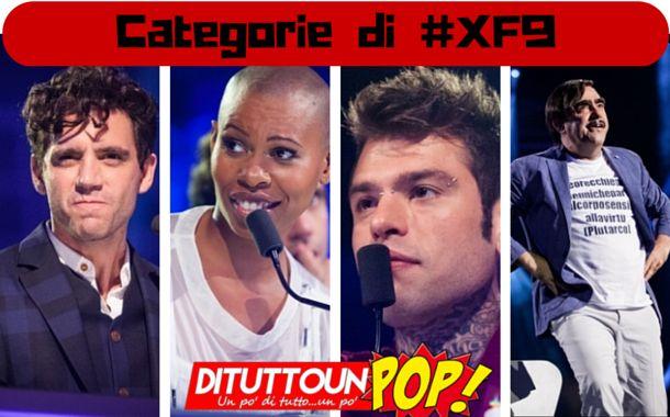 X Factor 9 Le Categorie - Durante i Bootcamp sono state svelate sui social le categorie assegnate a Mika, Elio, Fedez e Skin. Vuoi scoprirle? Leggi l'articolo.
