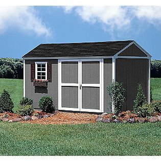 Augusta 10' x 12' Storage Building Kit with Floor- Colony Bay Outdoor Structures-this would be nice to convert to a coop!