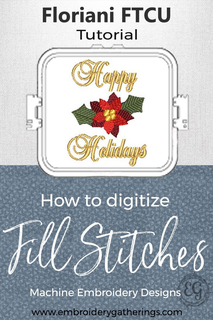 Learn to create a digitizing plan for your machine embroidery.