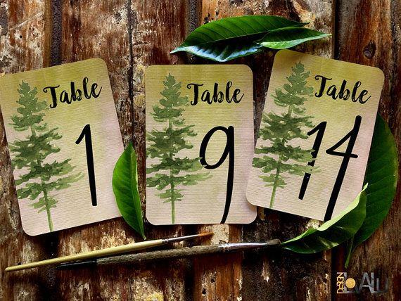 1-15 Numeri Tavolo Matrimonio formato digitale. di LovaluDesign #italiasmartteam #etsy