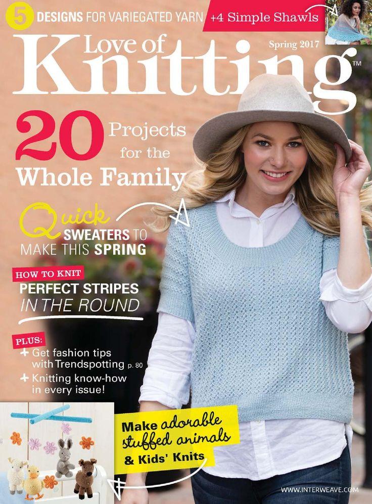 """Альбом """"Love of Knitting"""" - Spring 2017. Обсуждение на LiveInternet - Российский Сервис Онлайн-Дневников"""