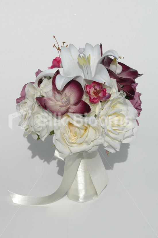 silk orchid wedding bouquets 17 best ideas about orchid bridal bouquets on 7411
