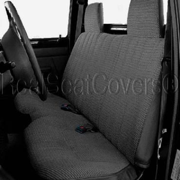 A27 Toyota Tacoma 4X4 4wd Front Solid Bench Custom Made to Exact Fit S          – RealSeatCovers