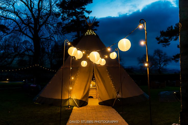 papakata teepee wedding