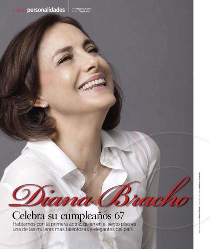 Diana Bracho : Foto lindaaaaaa! Da revista Caras do México. | minhasestrelas