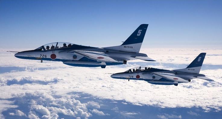 ブルーインパルス フォトギャラリー スペシャルコンテンツ [JASDF] 航空自衛隊    (via http://www.mod.go.jp/asdf/special/photo_gallery/blueimpulse/ )