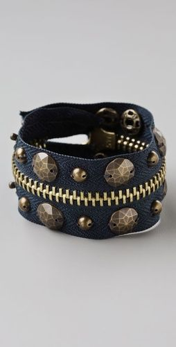 Bop Bijoux Zipper Snap Bracelet