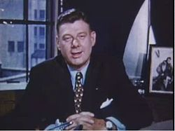 Watching the Arthur Godfrey Show