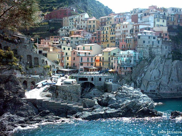 Manarola nel La Spezia, Liguria