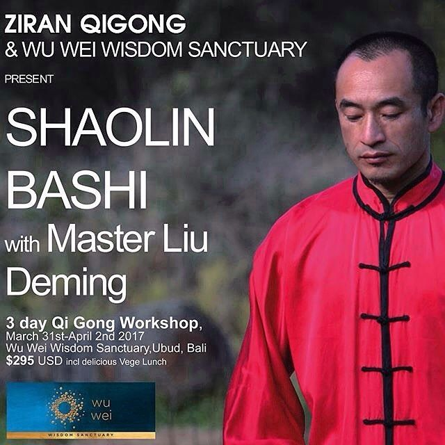 Join us! Begins 9am, check details on link above in our profile ↖️. Shaolin Bashi.  Details: ZIRAN QIGONG SHAOLIN BASHI - 少林八式 Shaolin Eight Movement Qi Gong The legendary Shaolin eight-movement qigong was created and passed down by the exalted founder of Chan (Zen) Buddhism, Bodhidharma. Through its eight powerful movements, Shaolin Bashi works to harmonise both Yin and Yang Qi, strengthening the internal organs, external muscles, tendons and bones.  Traditionally described as 养内壮外,内外合一…