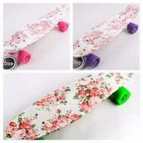 Скейтборд/скейт Penny Board 22 Original Цветочки (Пенни борд)! ФОТО!