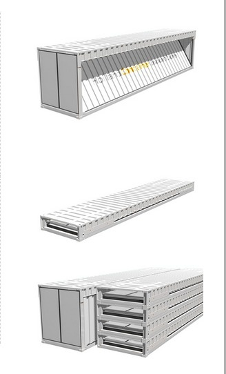 HCI Foldable Container