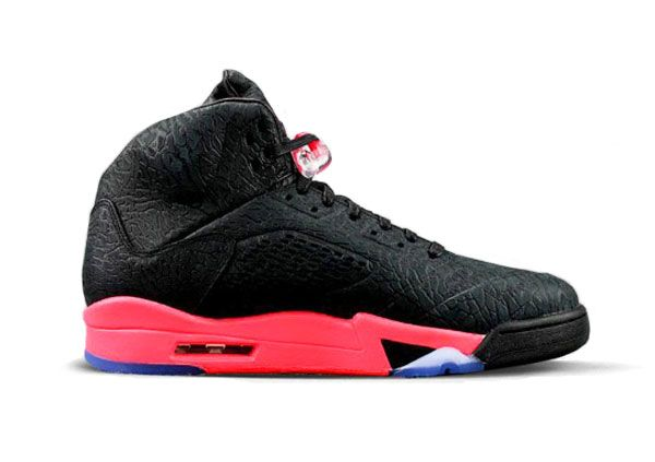 Pre Order 3Lab5 Infrared,Jordan 5 3Lab5 Infrared For Sale.This 3Lab5 Infrared 5S colorway simply sports an all-black elephant print upper and is complemented with a bright Infrared accents coming from the midsole and logos. 599581-010 Air Jordan 3Lab5 Black Infrared 23 Our Price :$142.00    http://www.jordankicksonfires.com/599581-010-air-jordan-5-3lab5-black-infrared-23-684.html