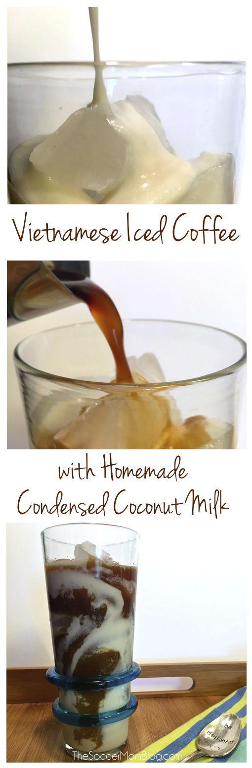 how to make vietnamese coffee condensed milk