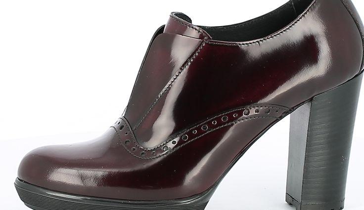 Heel Oxford Shoe
