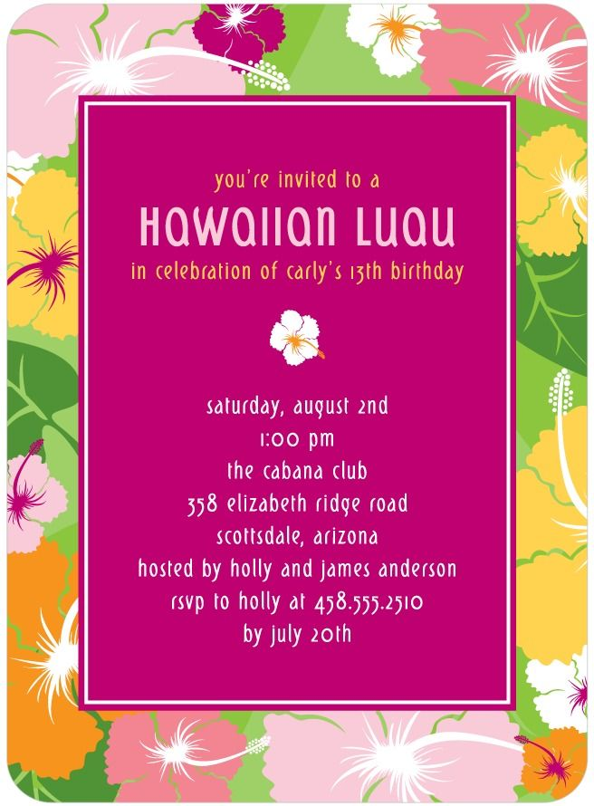 74 best Hawaiian style cards images on Pinterest   Beach cards ...