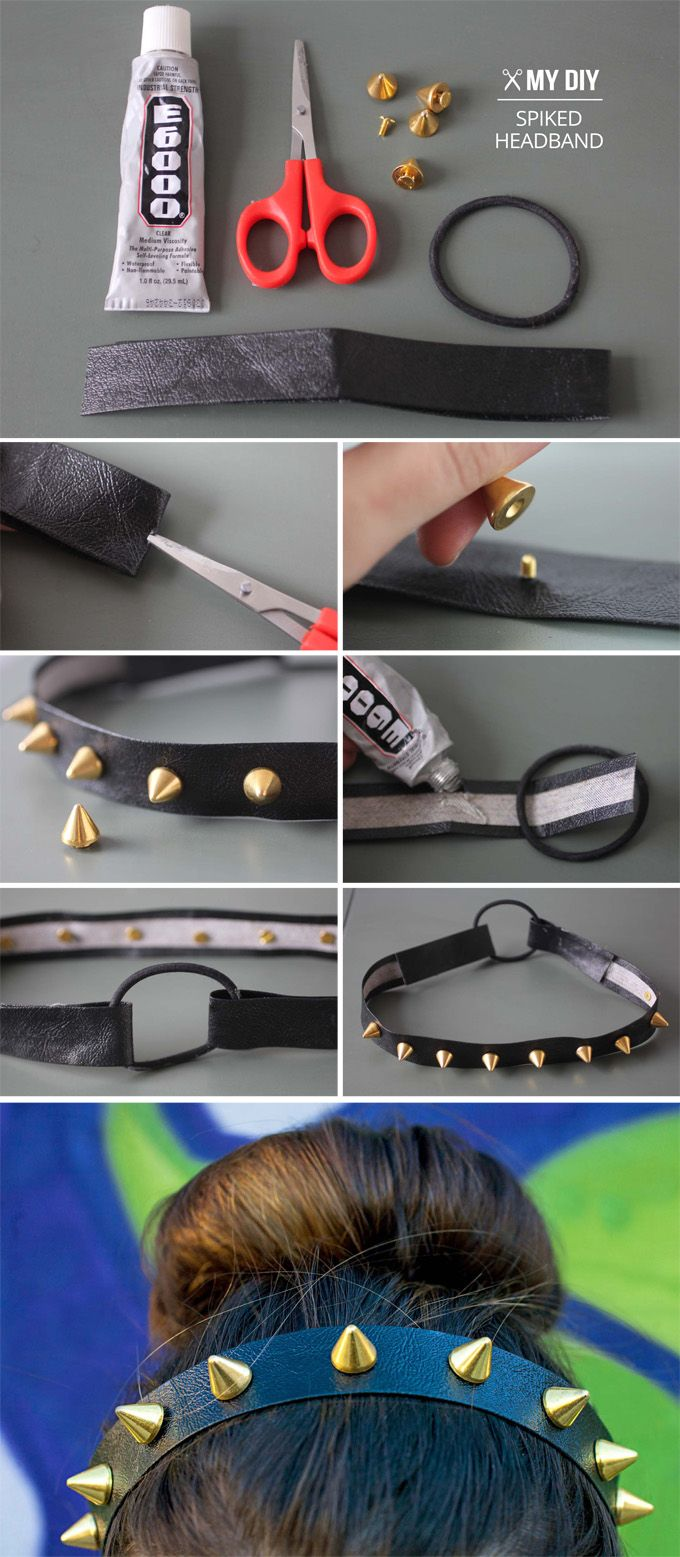 I Spy DIY: MY DIY | Spike Headband