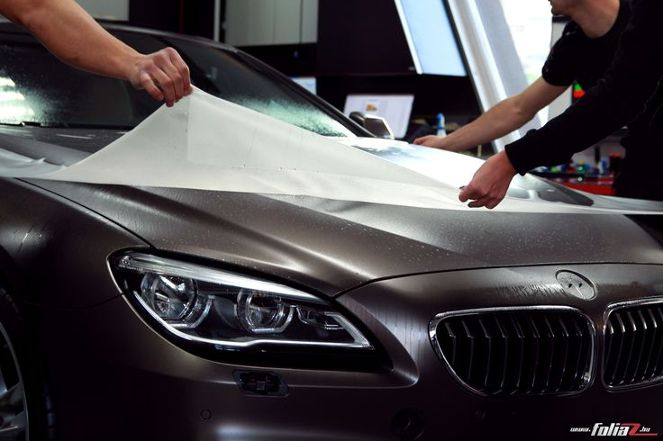 Matte Paint protection film - BMW 6  coupe