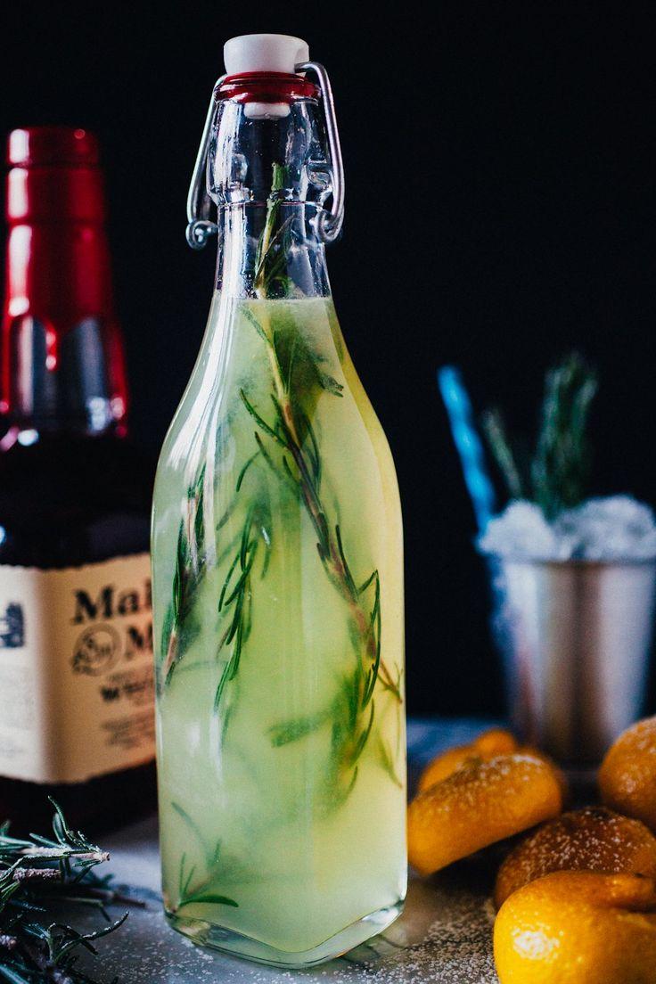 Rosemary Lemonade Julep from @crepesofwrath