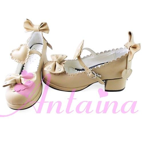 no * tai * na * Nye LETTER modellør LOLITA Kjærlighet blondere bue Søt prinsesse sko A707-Taobao