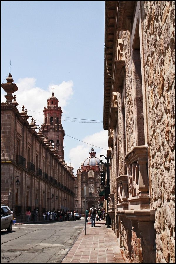 Morelia En La Mira. Mexico. Morelia is just special. No wonder they call it a pueblo magico.