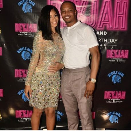 """Rapper TI and TINY attended their daughter's Deyjah's Sweet 16. Deyjah has blossomed into a beautiful young lady. She was the sweet little girl on """"TI and Tiny Family Hustle.&#822…"""