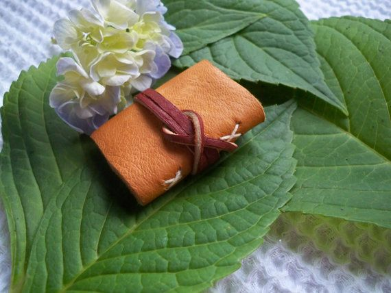 Fairy JournalMiniature Leather Journal Diary by Chapter42 on Etsy, $24.00
