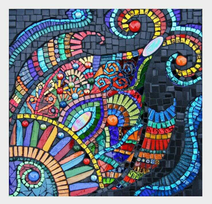 Arts and crafts mosaic tiles tile design ideas for Arts and crafts tiles