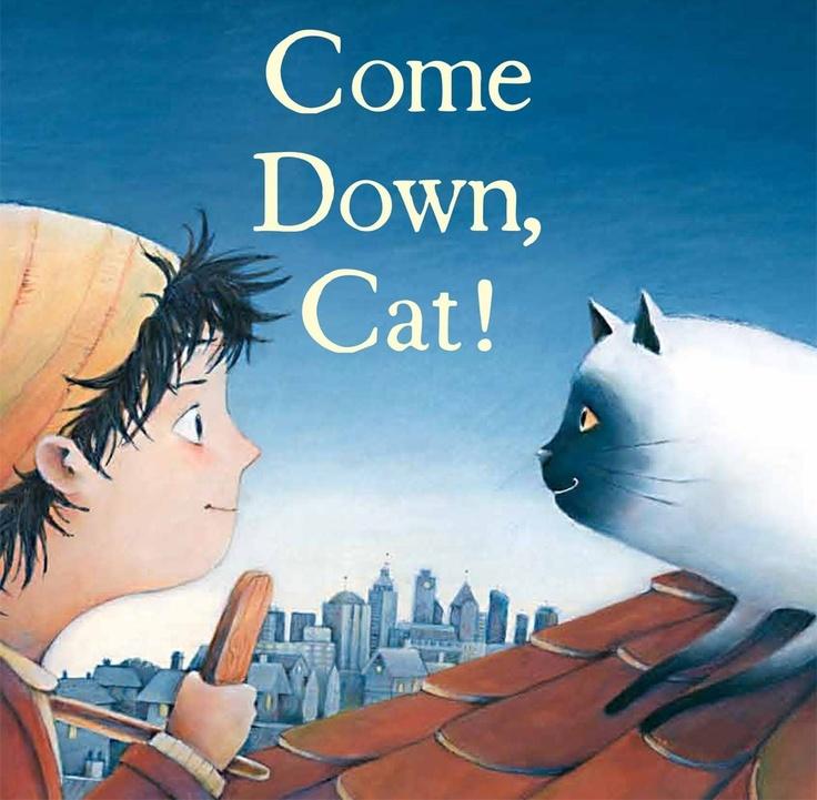 """Interactive activities for Sonya Hartnett's """"Come Down Cat!"""""""