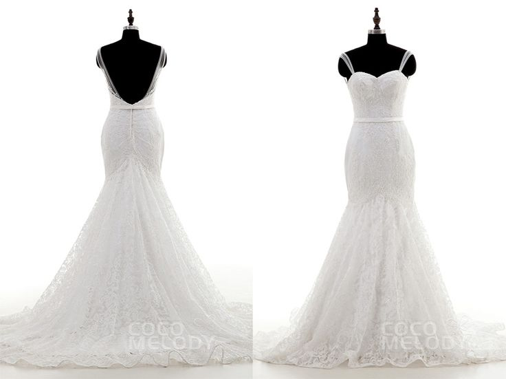 LIZA'S CORNER: Intricate Back On Cocomelody Wedding Dresses