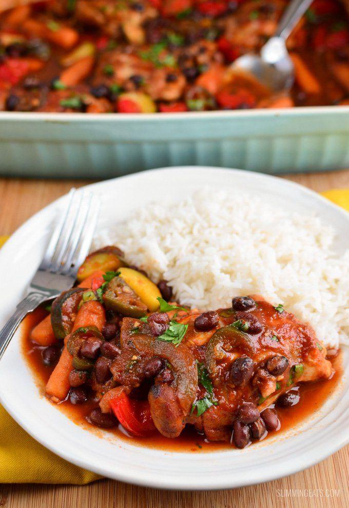 Kickin Barbecue Chicken - Slimming World Recipes - Slimming Eats