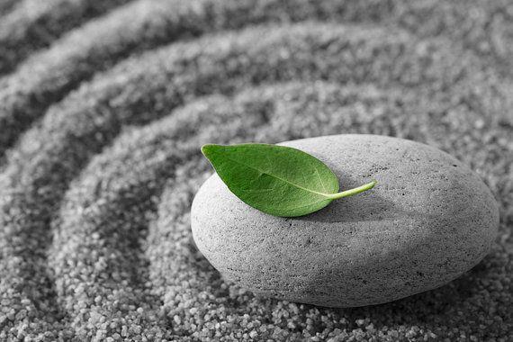 Zen Stone Gran Mural De La Pared Etiqueta De La Pared De Papel Pintado De Vinilo Autoadhesivas Peel Stick Tela Meditation Benefits Meditation Guided Meditation