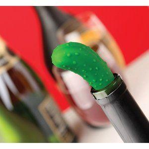 Pickle Cork Wine Bottle Stopper