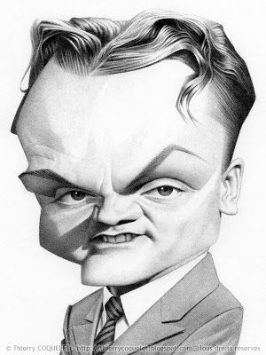 James Cagney by Thierry Coquelet