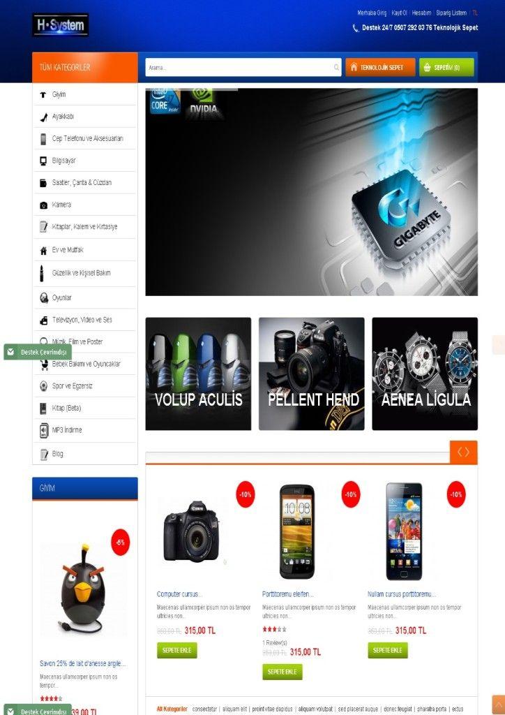 E-Ticaret Teknoloji | Web Tasarım | Web Sitesi Tasarımı | Web Yazılımı