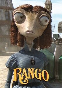 For MY Beans! Beans Rango Movie Poster