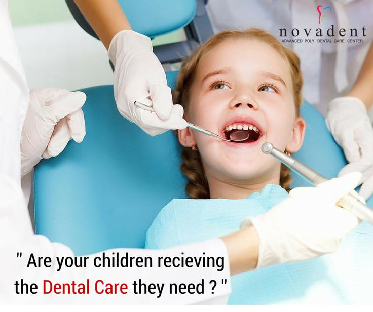 Dental Care For Children Increased use of preventive dental services can improve the health of infants,children and adolescents. Pediatric Dentistry (formerly #Pedodontics/Paedodontics) is the branch of dentistry dealing with oral health of children from infancy through adolescence. All pediatric dental procedures are carried out at Novadent including curative and preventive dental procedures such as sealant treatment, topical fluoride application etc.  http://www.novadenttly.com/