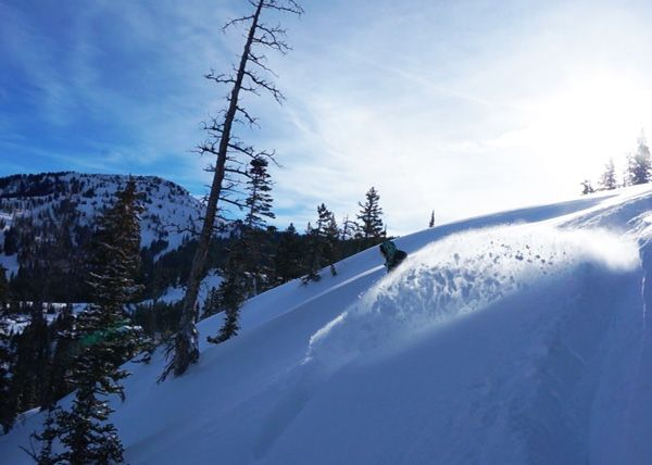 Brighton Resort is nestled in Big Cottonwood Canyon, a 40 minute drive from Salt Lake City. A gem of a resort, it was my favourite of the 9 SLC resorts.