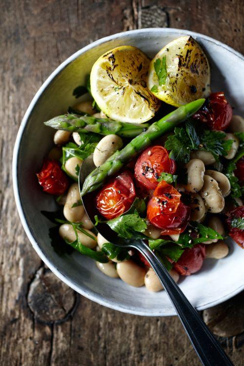 Mediterranean style cannellini bean salad- Recipe