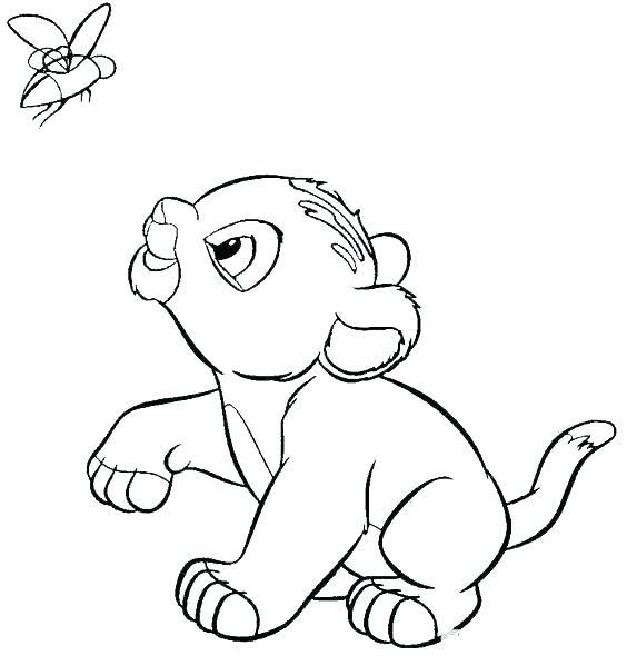 Résultat De Recherche D Images Pour Le Roi Lion Coloriage