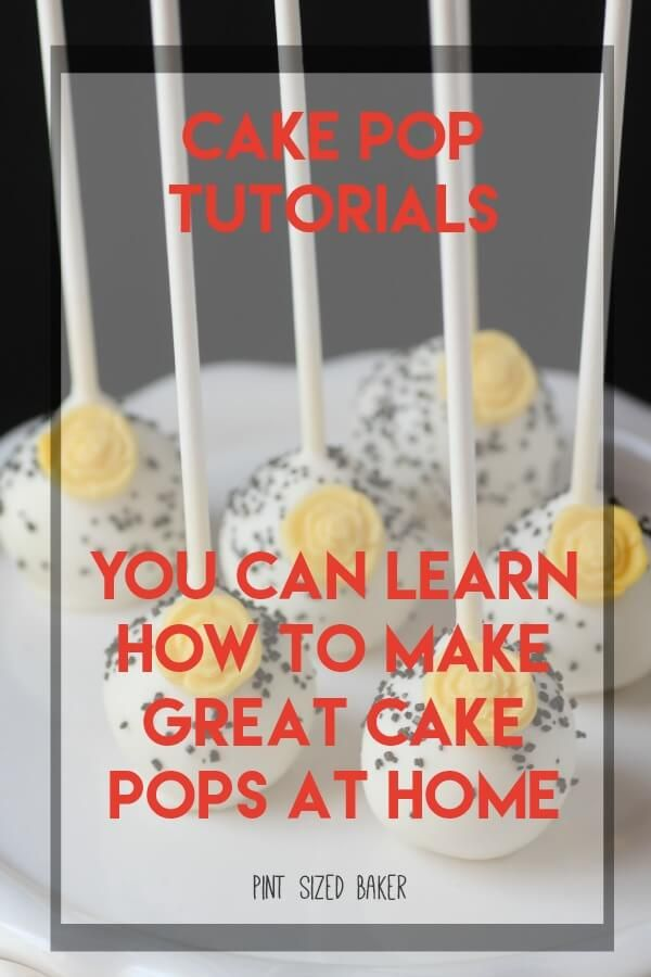 Learn how to make over 500 different cake pops. These Cake Pop Tutorials show you how to make and design cake pops for all occasions.