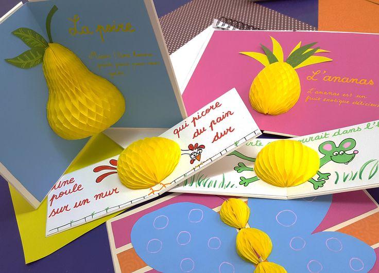 Honingraat papier kaarten