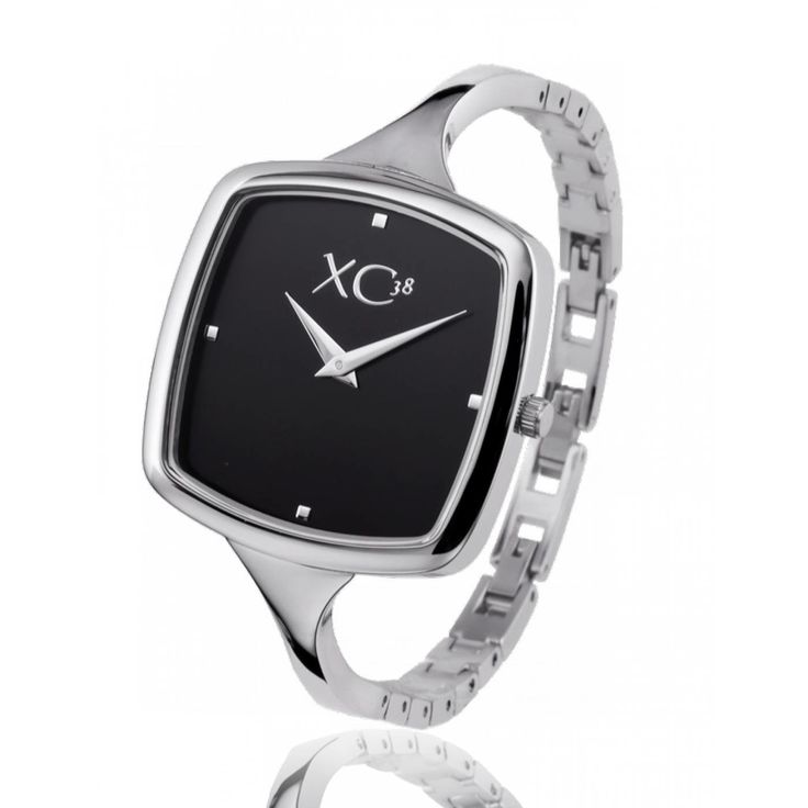 Ladies stainless steel BULLE black watches - Xc38