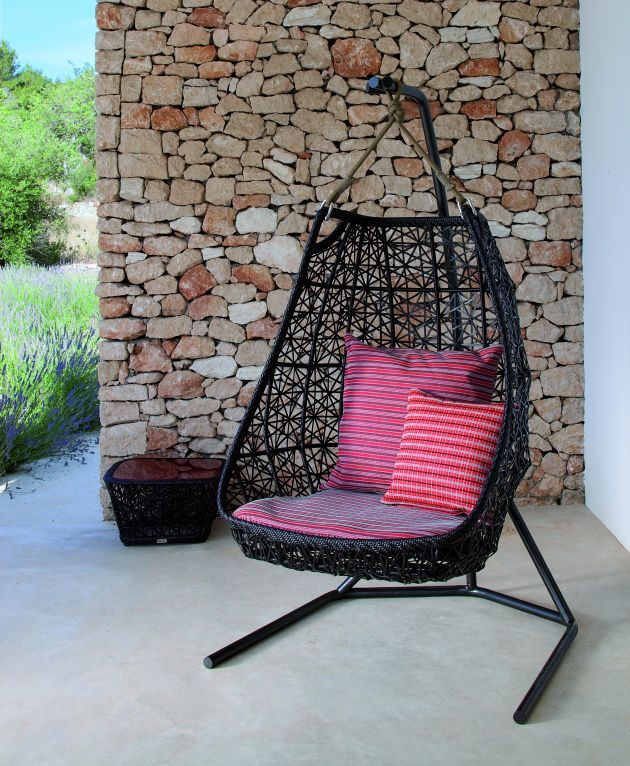 i love hanging chairs but i think id either want solid red or outdoor swingsoutdoor