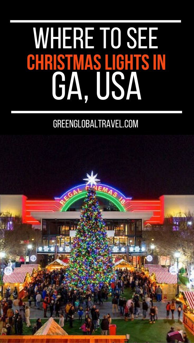 20 Best Christmas Light Displays In Georgia For 2020 W Map Best Christmas Lights Best Christmas Light Displays Christmas Light Displays
