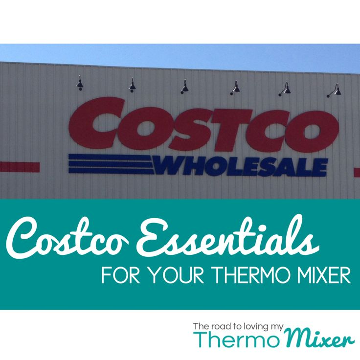 I am always asked about Costco and what can people buy from there in preparation for their Thermomix to arrive. I am a huge Costco fan. If I coul